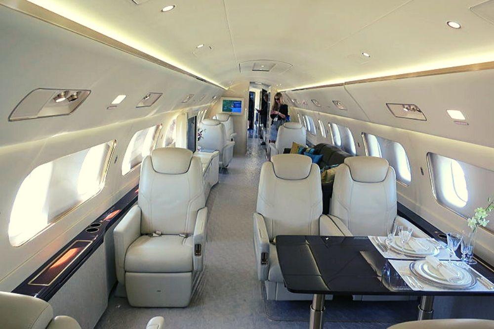 jet privato famoso