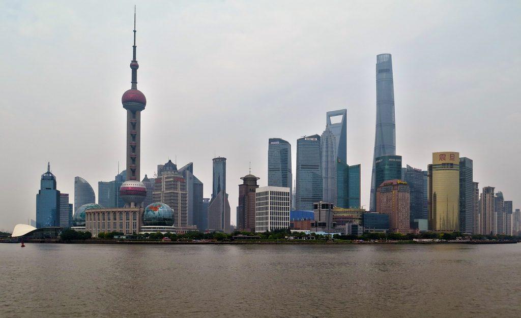 grattacieli shanghai