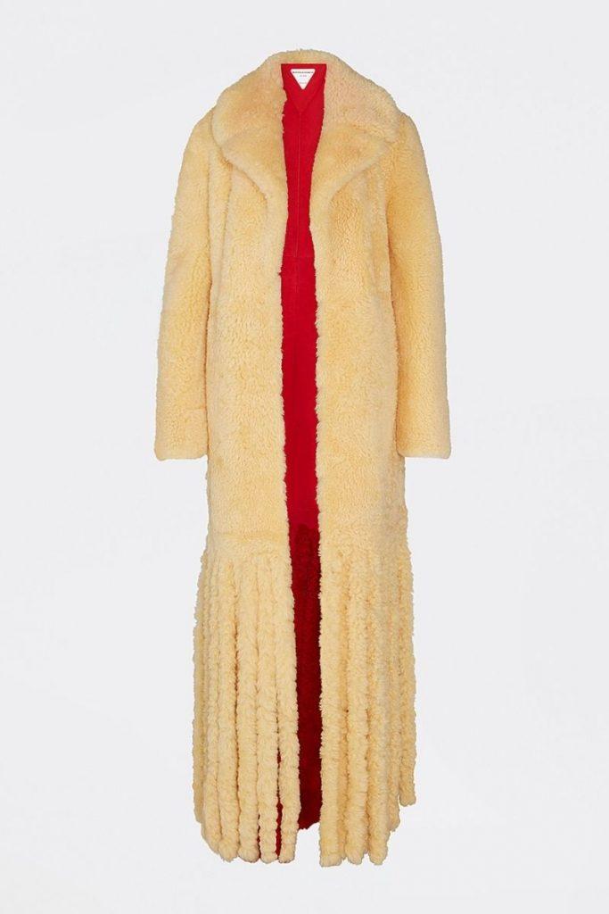 pelliccia ecologica bottega veneta